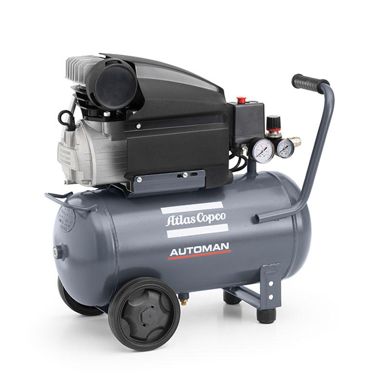 1.5 kW klipni kompresor ATLAS COPCO AUTOMAN AF25E24